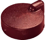 Water Source WC622 Well Cap, Cast Iron, 6-In.