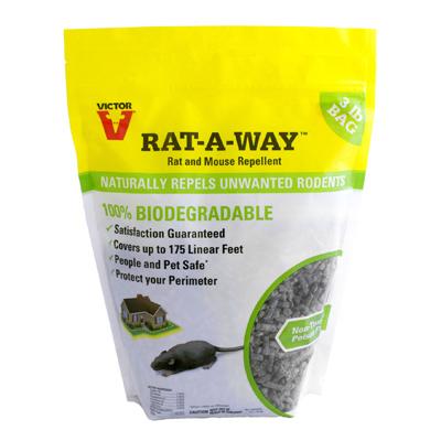 m807 rodent repellent granular 3 lb quantity