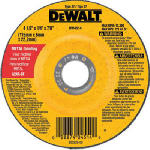 Dewalt Accessories DW4514 4.5 x .25-In. Fast Metal-Cutting Wheel