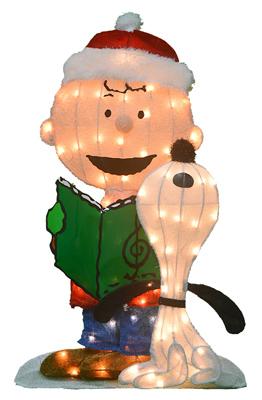 Product-Works-20209L2D-Pre-Lit-Christmas-Yard-Art-Peanuts-32-In-Quantity-1