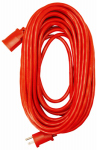Ho Wah Gentin Kintron Sdnbhd 02407ME Extension Cord, 14/3 SJTW Red Round Vinyl, 25-Ft.