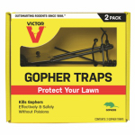 Woodstream S9013 Gopher Traps, 2-Pk.