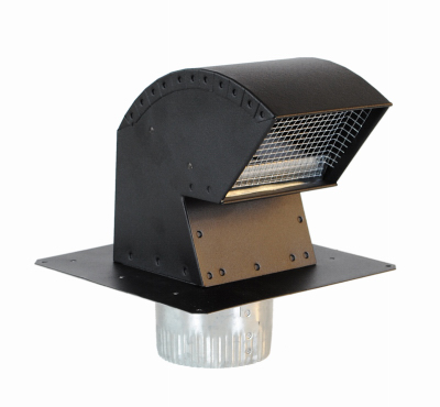 Details about Imperial Mfg Group Usa VT0640 Roof Vent Cap, Commercial Grade  with Damper &