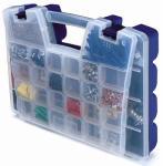 Akro Mils 06318 18-Inch Blue Portable Organizer