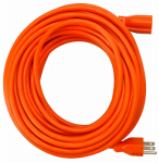 Ho Wah Gentin Kintron Sdnbhd 02309ME Extension Cord, 16/3 SJTW Orange Round Vinyl, 100-Ft.