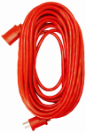 Ho Wah Gentin Kintron Sdnbhd 02409ME Extension Cord, 14/3 SJTW Red Round Vinyl, 100-Ft.