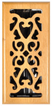 Imperial Mfg Group Usa RG1834 Hardwood Floor Register, Oak Scroll, 4 x 10-In.