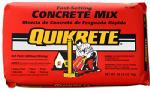 Quikrete Companies 100450 Fast-Setting Concrete Mix, 50-Lb.