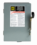 Square D By Schneider Electric D211NCP 30-Amp General-Duty Safety Switch