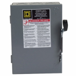 Square D By Schneider Electric D221NCP 30-Amp General-Duty Safety Switch