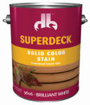 Duckback Products DB0096064-16 1-Gallon Brilliant White Self-Priming Deck/Siding Stain