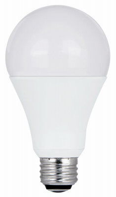 A50/150/927CA LED Light Bulb, 3-Way, Soft White