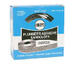 William H Harvey 095105 Plumber's Abrasive Cloth, 120-Grit, 1-1/2-In. x 10-Yds.