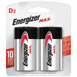 "Eveready Battery E95BP-2 2-Pk. ""D"" Alkaline Batteries"