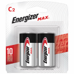 "Eveready Battery E93BP-2 2-Pk. ""C"" Alkaline Batteries"