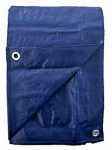 Kaps Tex 250282RD Polyethylene Tarp, Blue, 5 x 30-Ft.