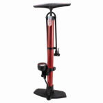 Custom Accessories 55001 140PSI Bicycle Tire Pump with Gauge