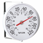Taylor Precision Products 90100-000-000 5-1/4-Inch Diameter Outdoor Thermometer