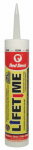 Red Devil 0866 Lifetime Acrylic Siliconized Caulk, Clear, 10.1-oz.