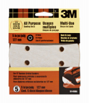 3M 9145 5-Pk., 5-In. 220-Grit 8-Hole Quick Change Sanding Disc