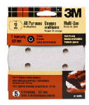 3M 9148W 5-Pk., 5-In. 40-Grit 8-Hole Quick Change Sanding Disc