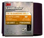 3M 9188SB-ES 3 x 18-Inch 120-Grit Sandblaster Sanding Belt