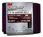 3M 9189SB-ES 3 x 18-Inch 80-Grit Sandblaster Sanding Belt