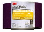 3M 9191SB-ES 3 x 21-Inch 120-Grit Sandblaster Sanding Belt