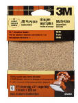 3M 9222NA 6-Pk., 4.5 x 5.5-In. 60-Grit Clip-On Palm Sander Sheet