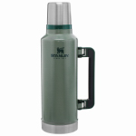 Pmi Worldwide 10-01289-035 Classic Vacuum Bottle,Hammertone Green, 2-Qt.