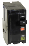 Square D By Schneider Electric QO220CP 20A Double-Pole Circuit Breaker