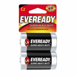 "Eveready Battery 1235SW-2 2-Pack ""C"" Super Heavy-Duty Batteries"
