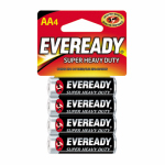 "Eveready Battery 1215SW-4 4-Pack ""AA"" Super Heavy-Duty Batteries"