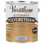 Rust-Oleum 9132 Varathane Interior Oil-Based Premium Polyurethane, Gallon , Satin