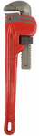 J S Products 260968 Steel Pipe Wrench, 18-In., 3-In. Jaw Capacity