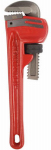 J S Products 261123 Steel Pipe Wrench, 8-In., 1-In. Jaw Capacity