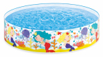 Intex Recreation 58458EP Backyard Round Pool, Reef Design, 6-Ft. x 15-In.