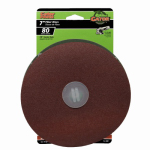 Ali Industries 3081 3-Pk., 7-In. 80-Grit Fiber Sanding Disc