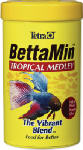 Tetra Pond 16838 BettaMin Tropical Medley Fish Food, .81-oz.