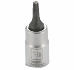 Apex Tool Group-Asia 263525 1/4-In. Drive, T-15 TORX Bit Socket