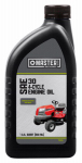 Olympic Oil 263643 Riding Mower Engine Oil, 4-Cycle, SAE30, 48-oz.