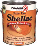 Zinsser & 0701 Bullseye Gallon Amber Shellac
