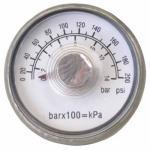 Campbell Hausfeld GR001900AJ Mini 1/8-In. NPT Pressure Gauge