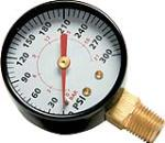 Campbell Hausfeld GR002000AJ 1/4-In. NPT Compressor Pressure Gauge