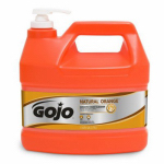 Gojo Industries 0945-04 Natural Orange Smooth Hand Cleaner, 1-Gallon