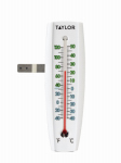 Taylor Precision Products 90109 2-Way Indoor/Outdoor Window Thermometer
