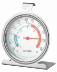 Taylor Precision Products 5924 Refrigerator/Freezer Thermometer, Dial, Round, 3-In.