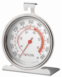 Taylor Precision Products 5932 Oven Thermometer, 3-Inch Round