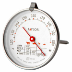 Taylor Precision Products 5939N Meat Thermometer, Dial, Stainless Steel, 5-1/2-In.