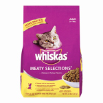 Mars Petcare Us 10122299 Meaty Selections Dry Cat Food, 3.3-Lbs.